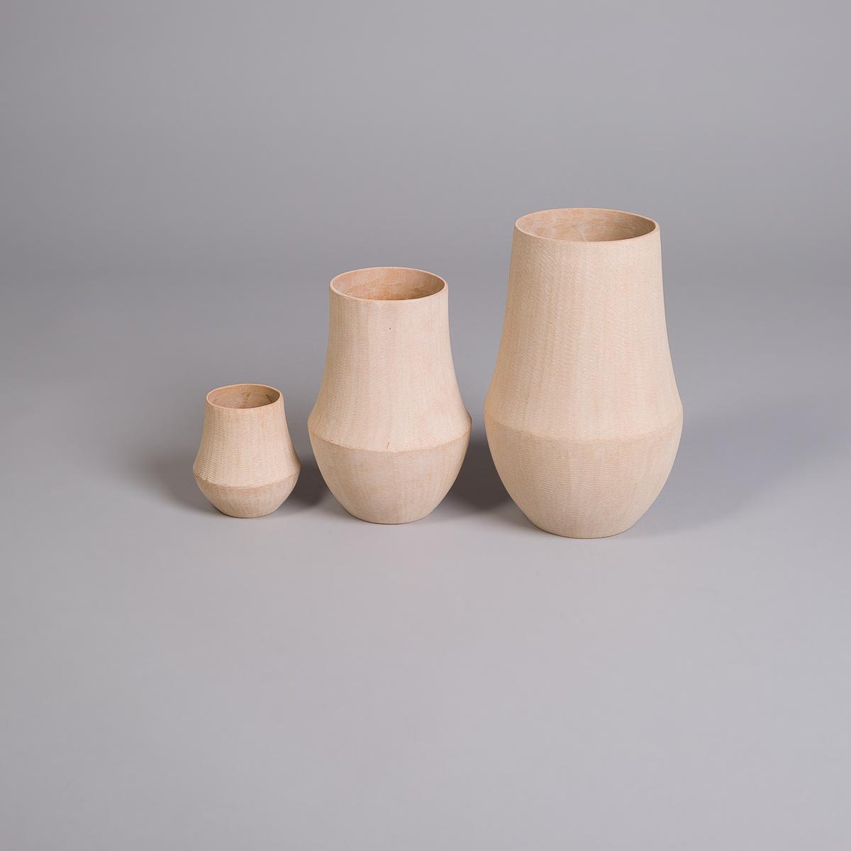 Lily vase i sandstein - 24 cm-237