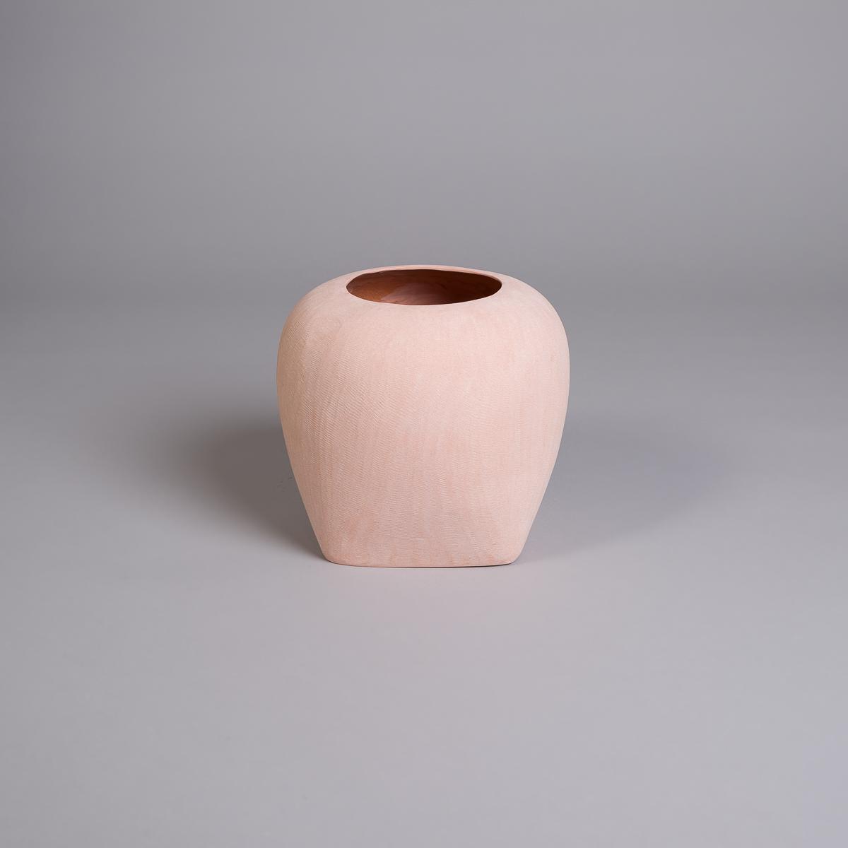 Oliver vase i Sandstein 26 cm - Rosa-0