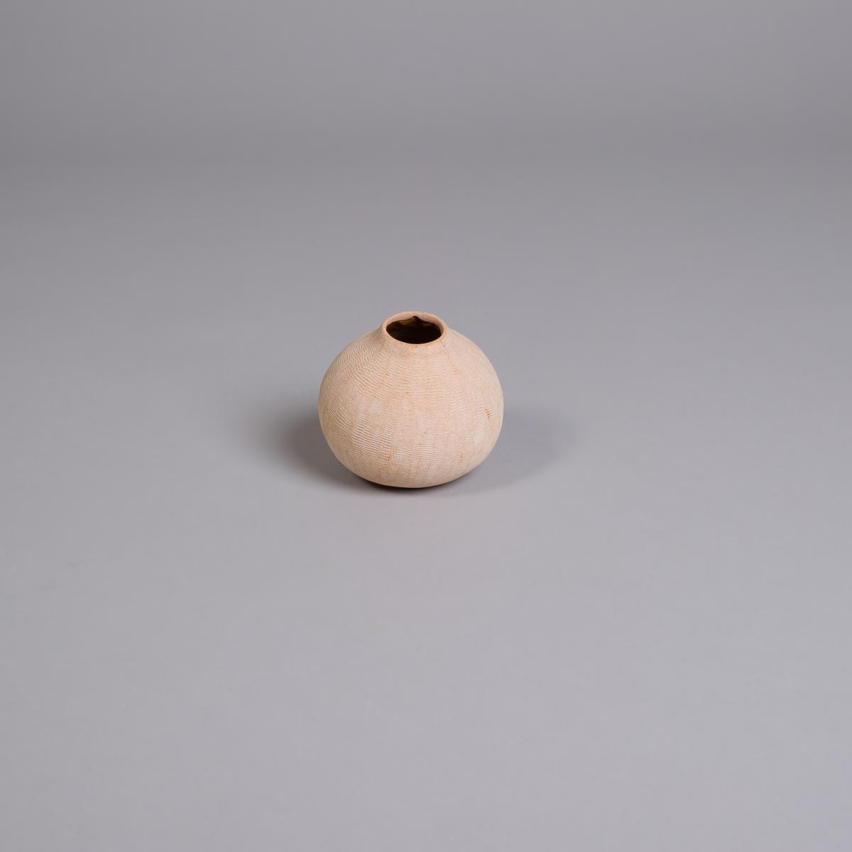 Poppy vase i sandstein - 10 cm-0