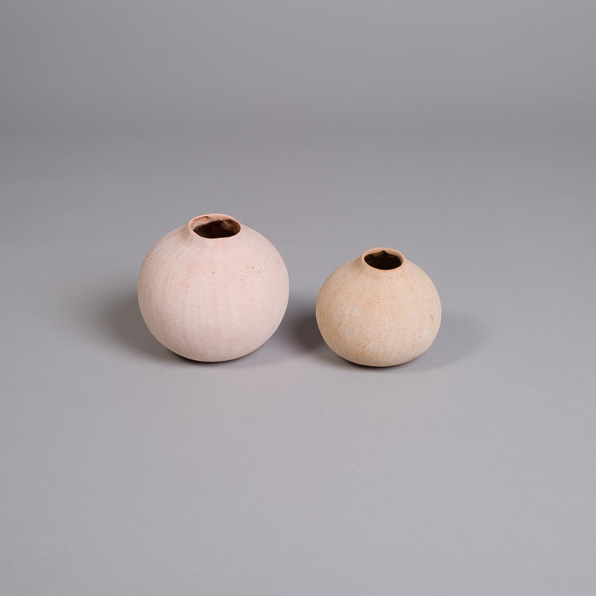 Poppy vase i sandstein - 10 cm-231