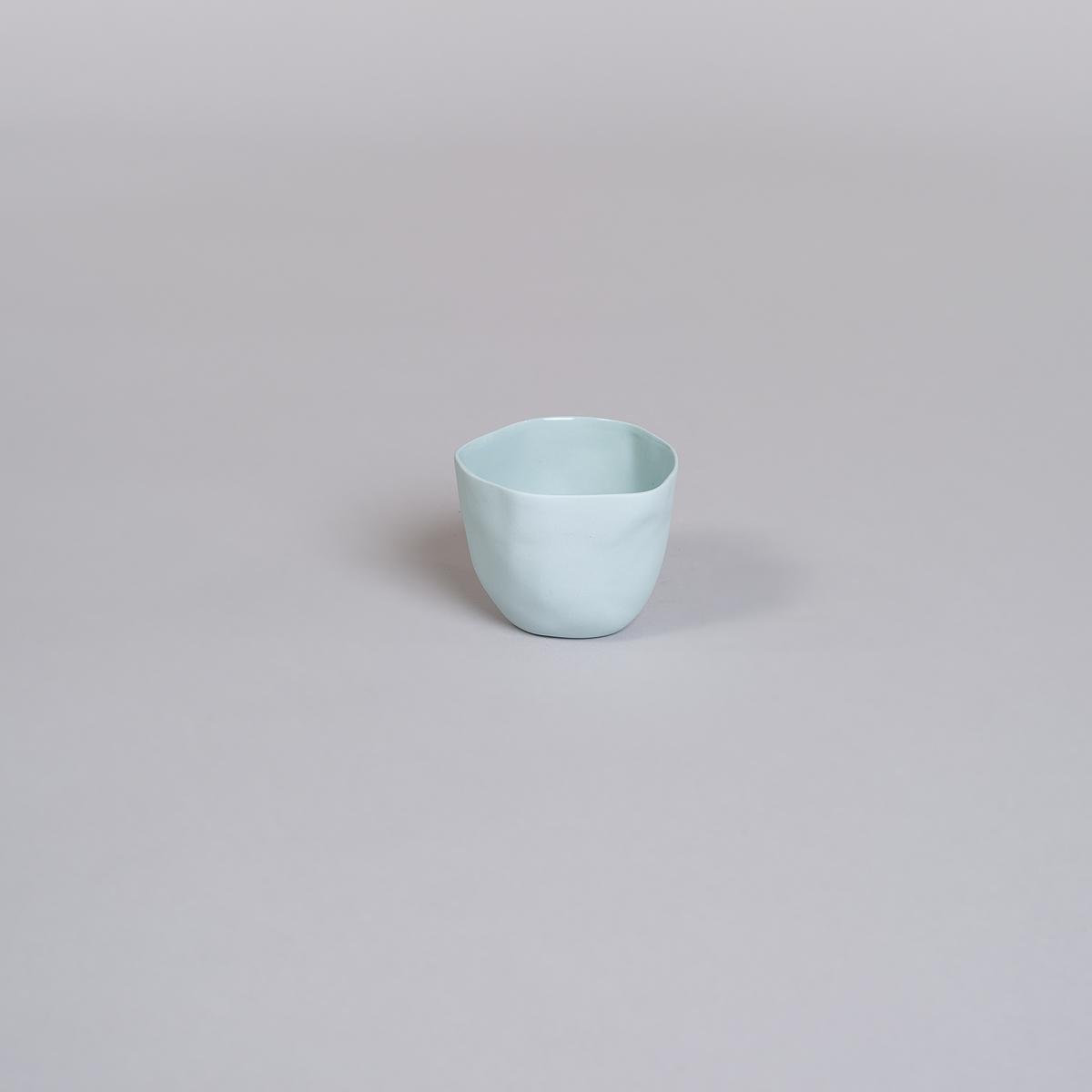 Kopp Medium i Porselen - Lys blå-0