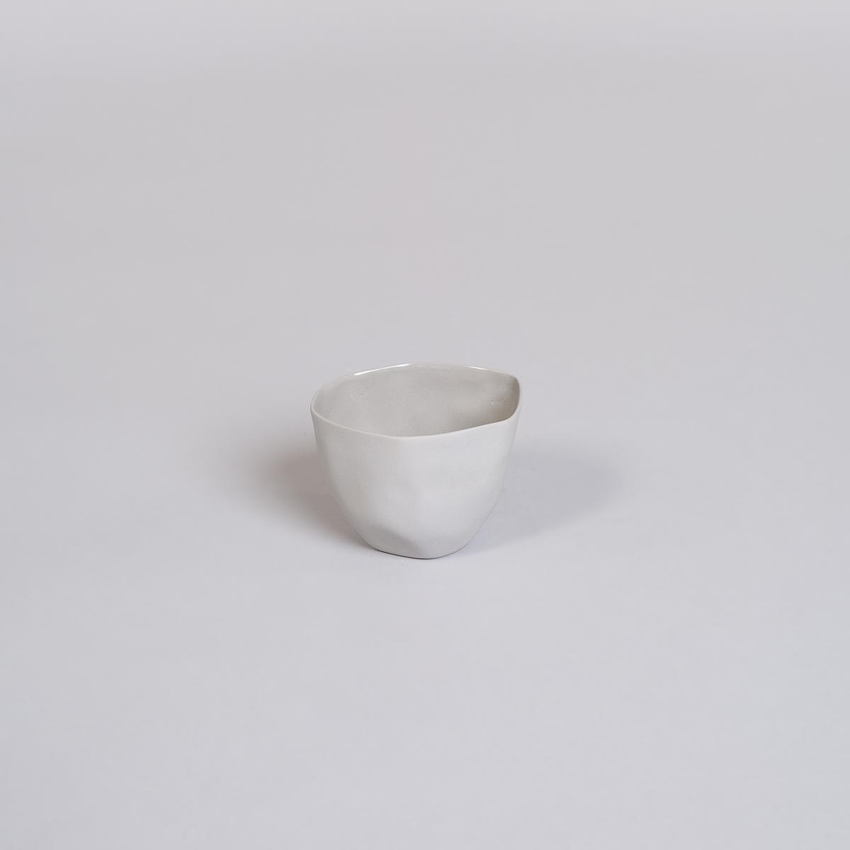 Kopp Medium i Porselen - Lys grå-0
