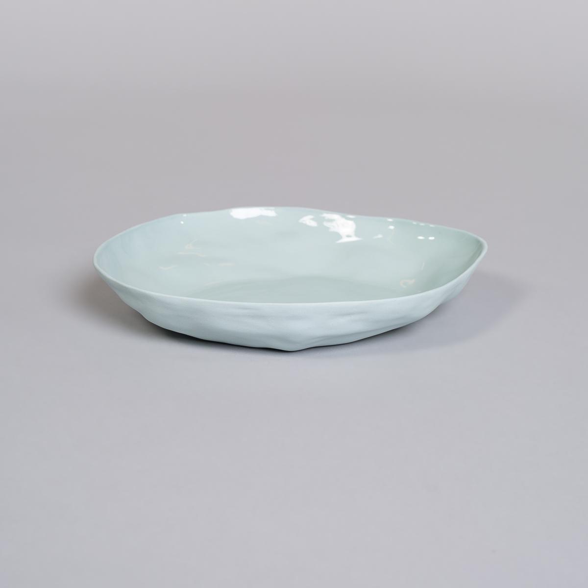 Fat i Porselen - Lys blå-0