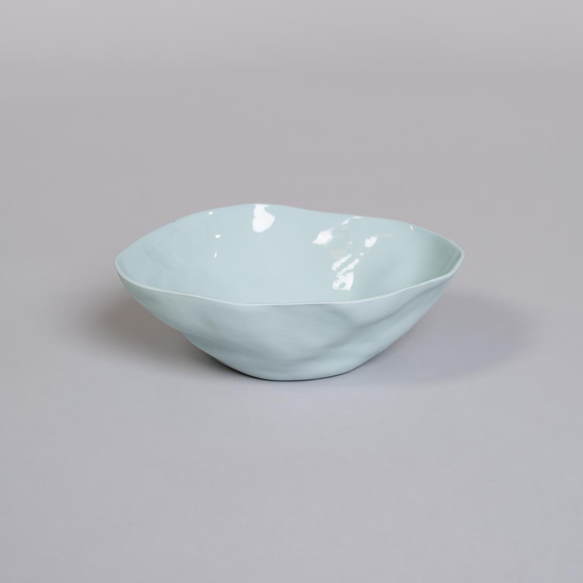 Bolle Medium i Porselen - Lys blå-0