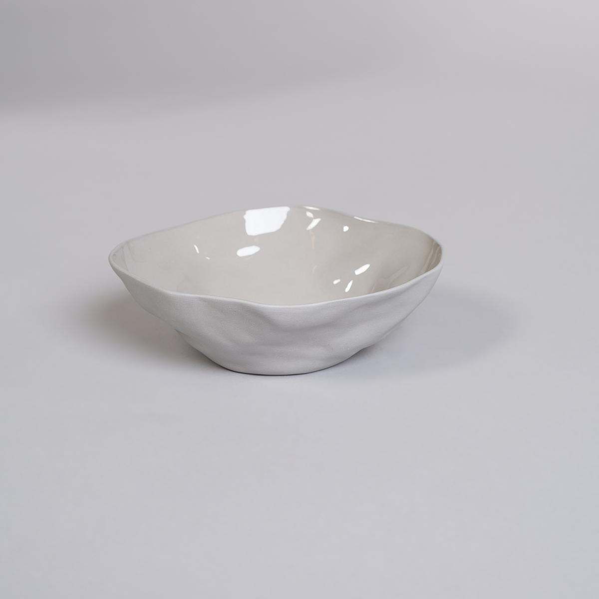 Bolle Medium i Porselen - Lys grå-0