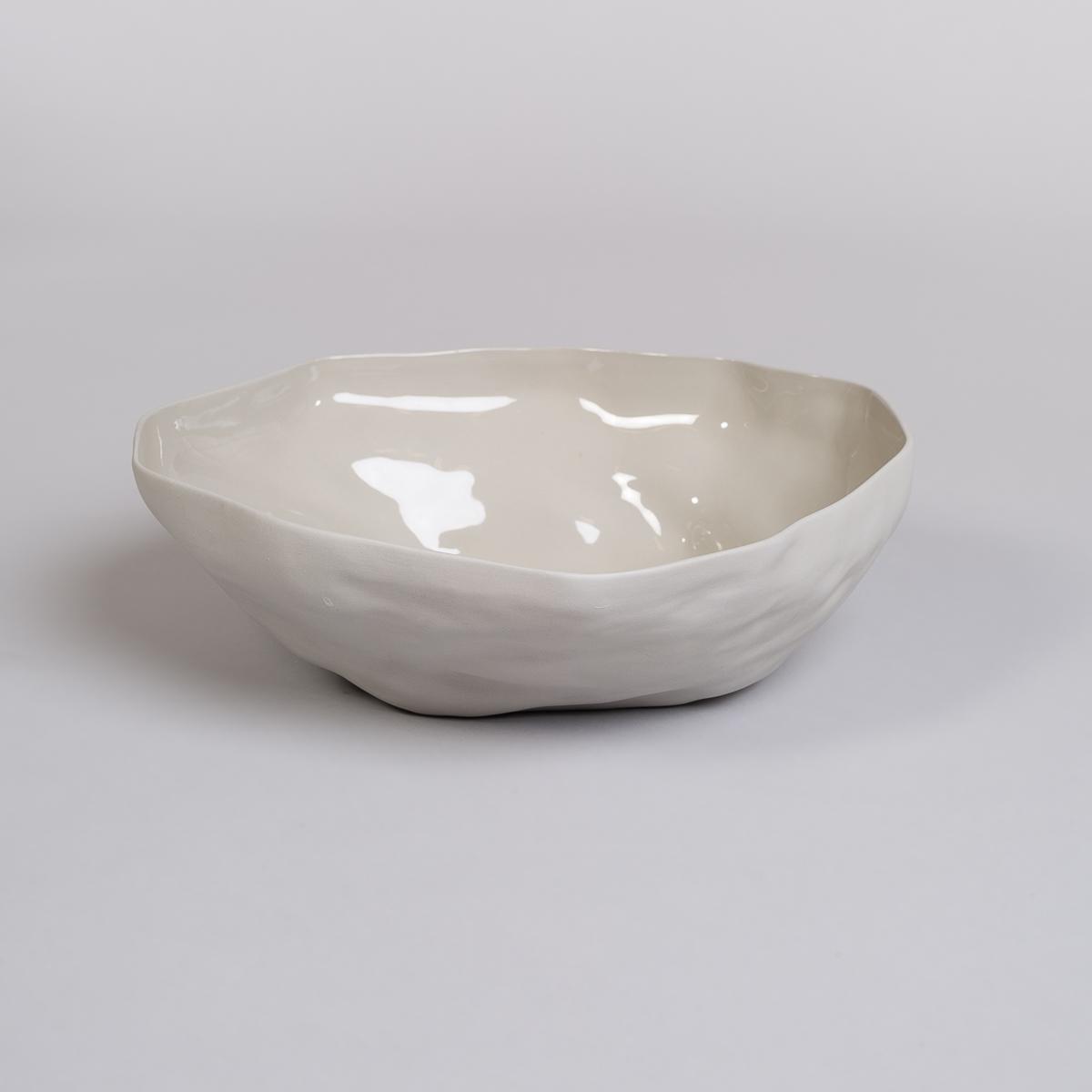 Bolle Stor i Porselen - Lys grå-0