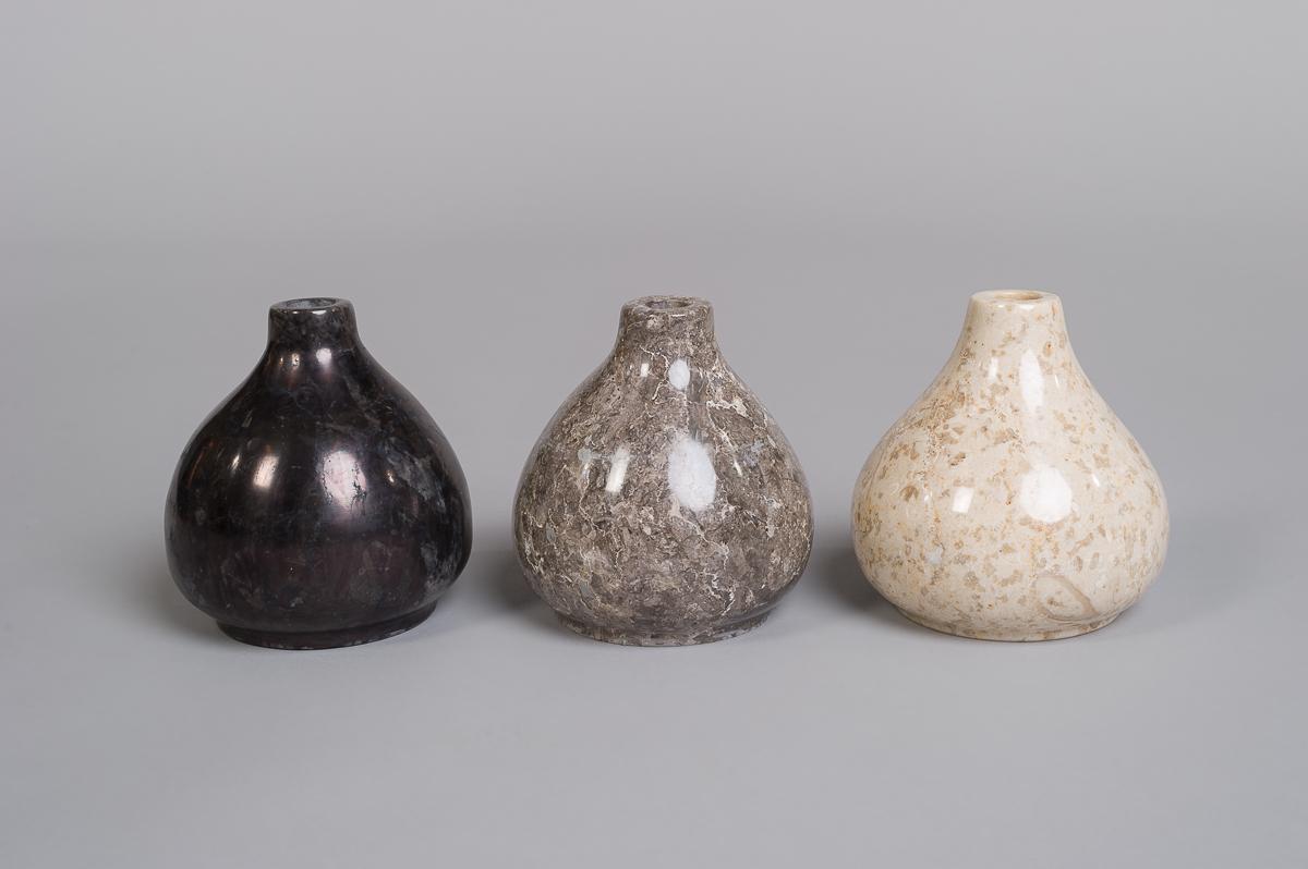 Marmor vase-Krem-101
