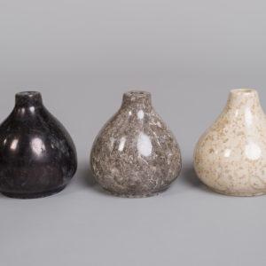 Marmor vase-Grå-104