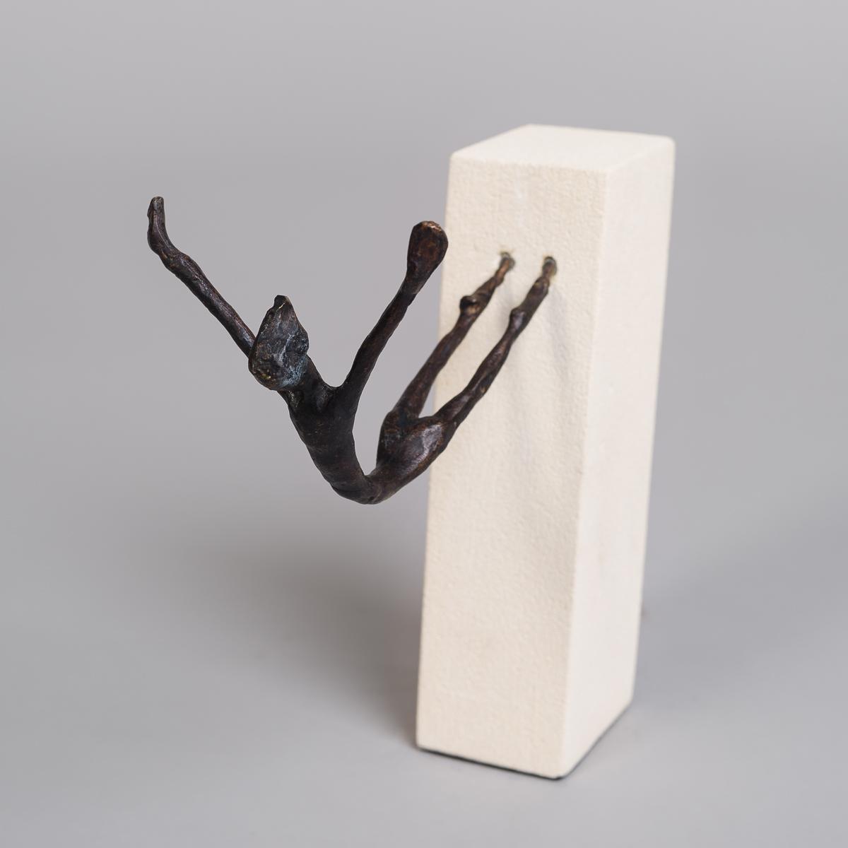 """Bronse figur """"Stupende"""" -0"""
