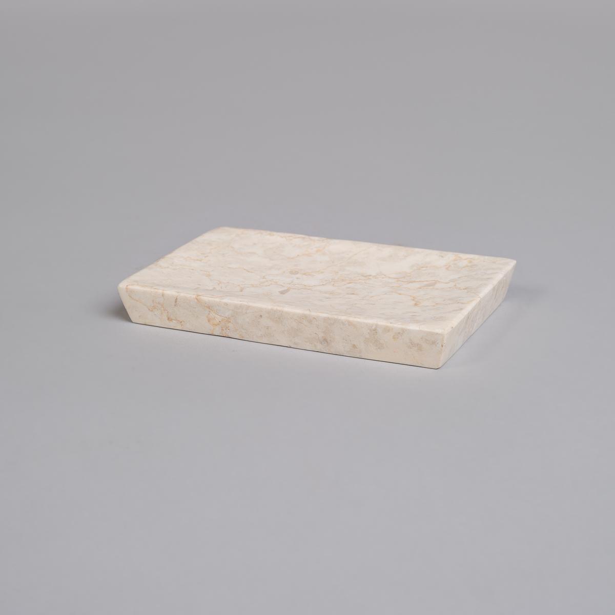 Såpekopp i marmor-Krem-0