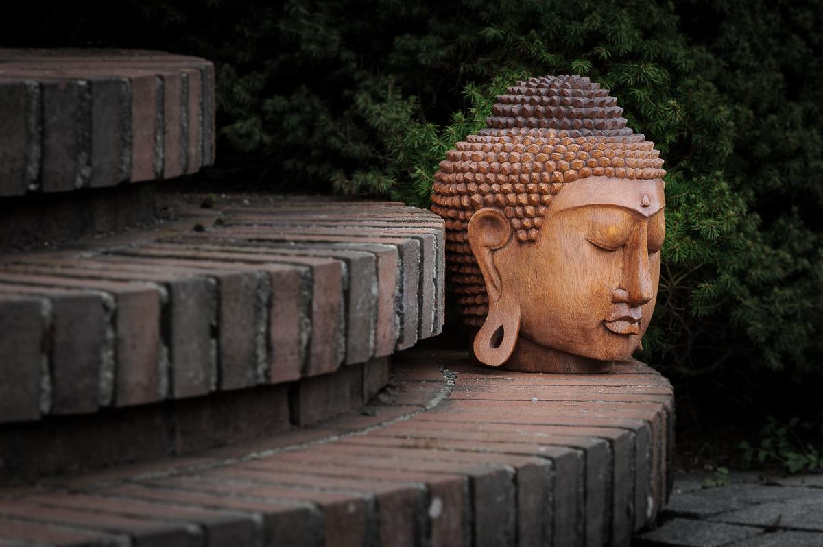 Stort Buddha hode -385