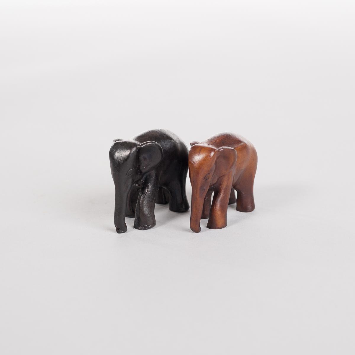 Liten Sort Elefant-504