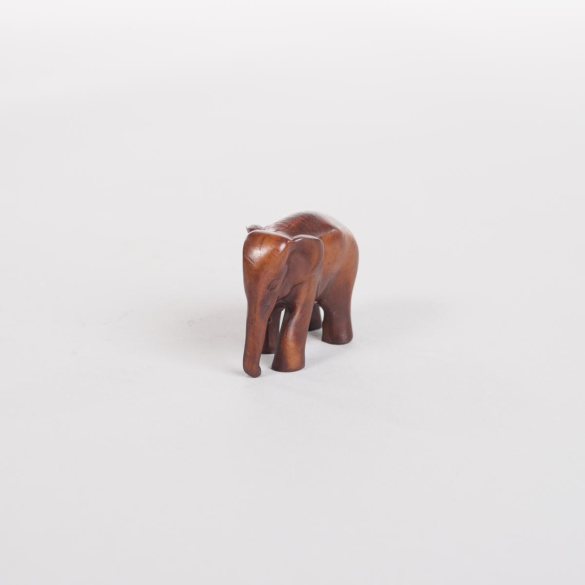 Liten Brun Elefant-0