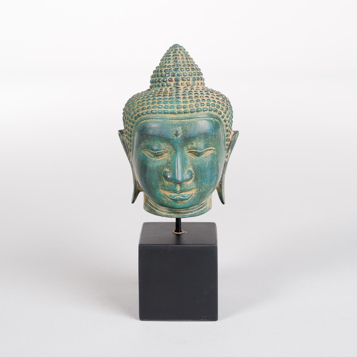 Buddha hode i Bronse-0