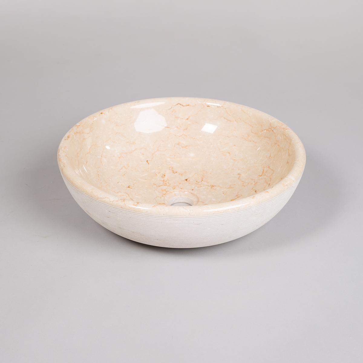 Vask i lys marmor -0